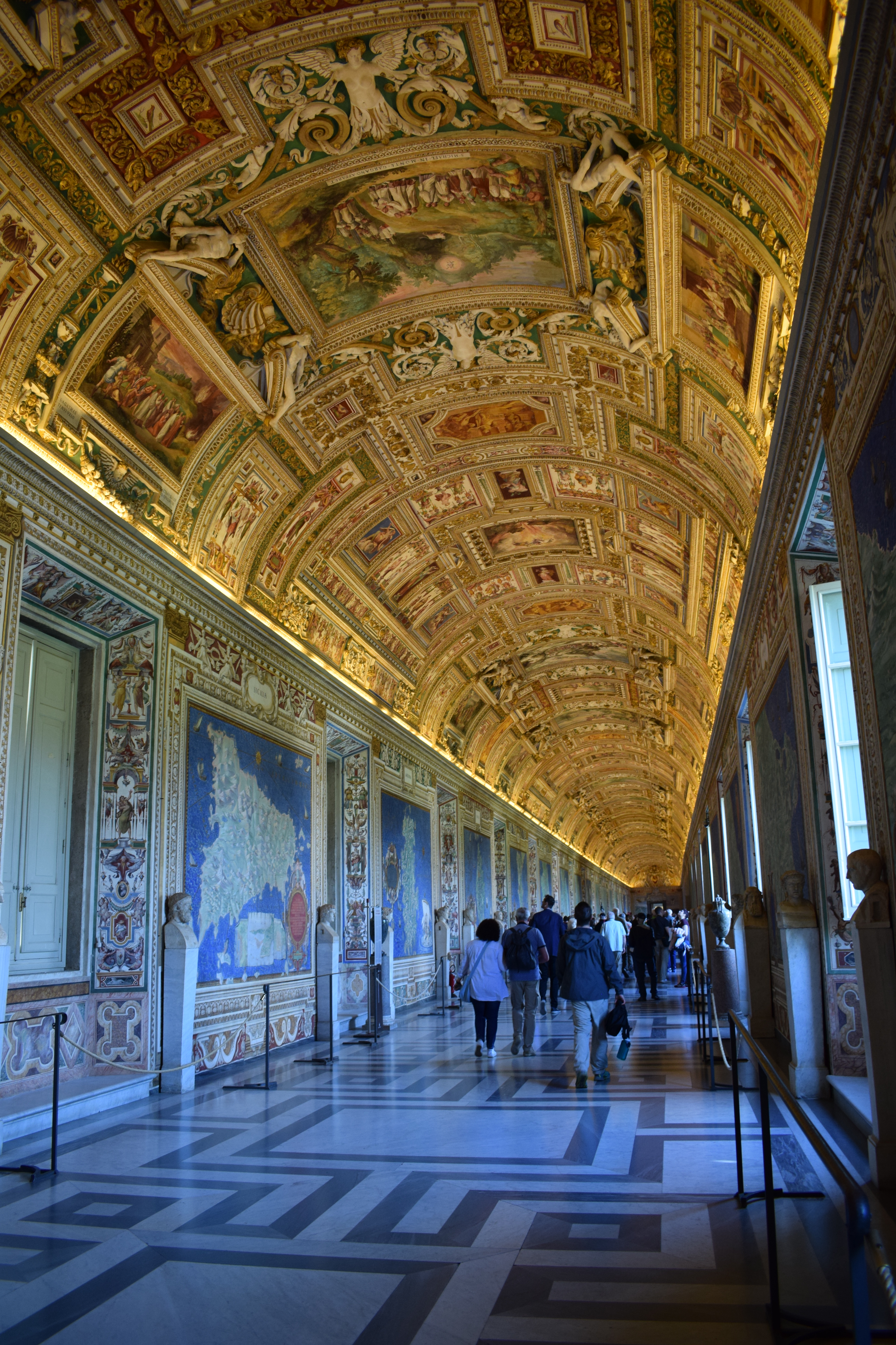 Inside the Vatican Museums Rome Italy