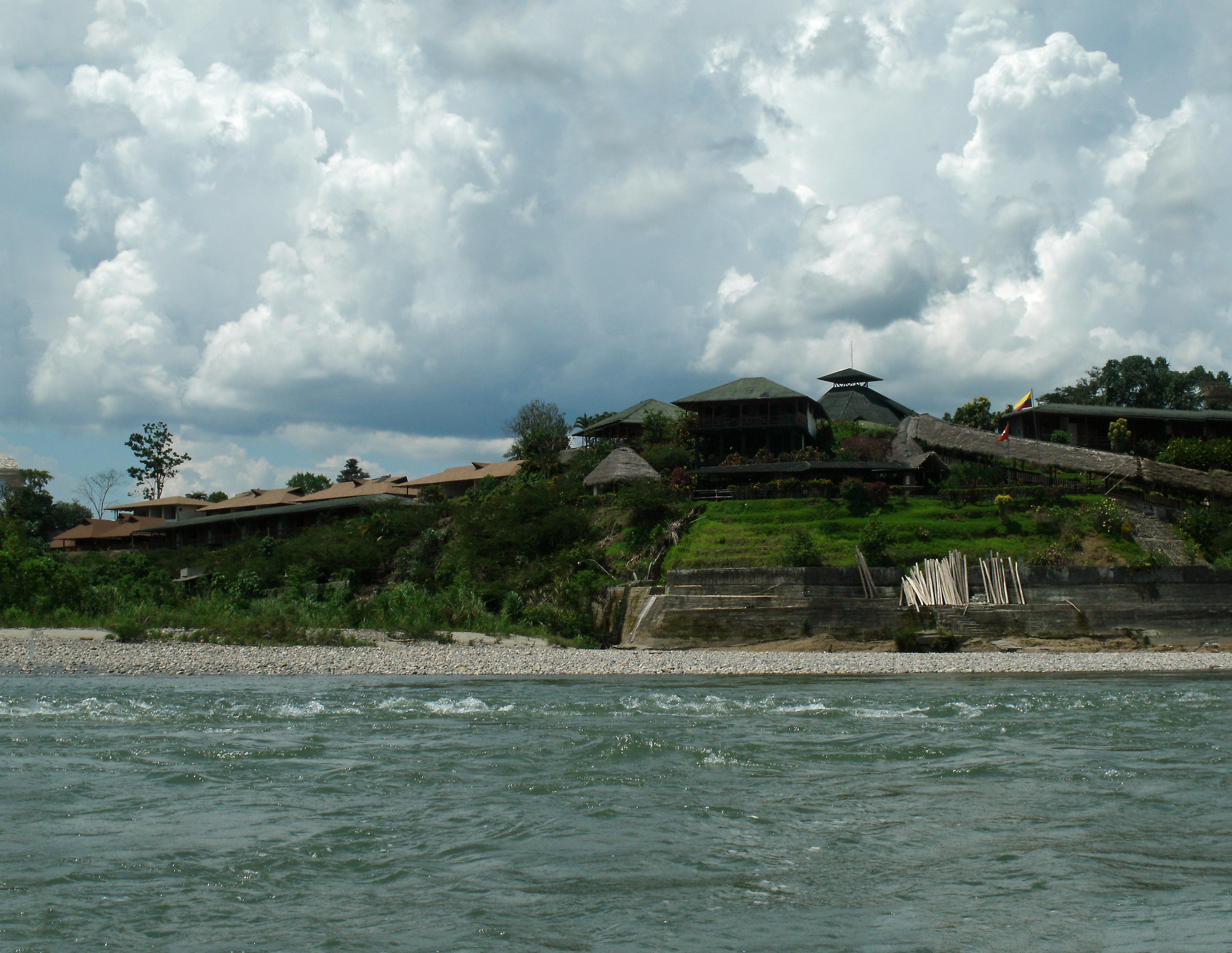 Casa del Suizo Lodge on Napo River in Ecuador Amazon
