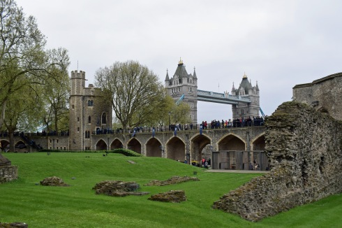 Within the Walls of the Tower of London