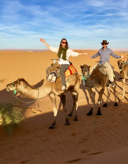 Camel Riding in Merzouga Sand Dunes