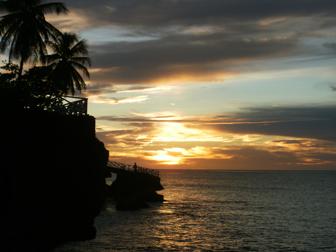 Sunset View from Store Bay in Tobago