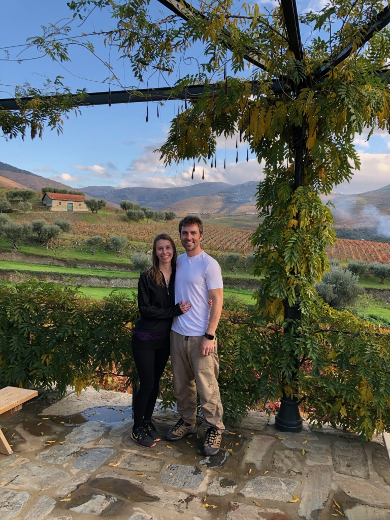 Couple Wine Tasting at Croft Vineyard in Douro Valley Portugal