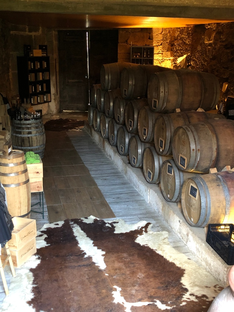 Port Wine Cellar in Family Owned Vineyard in Douro Valley Portugal