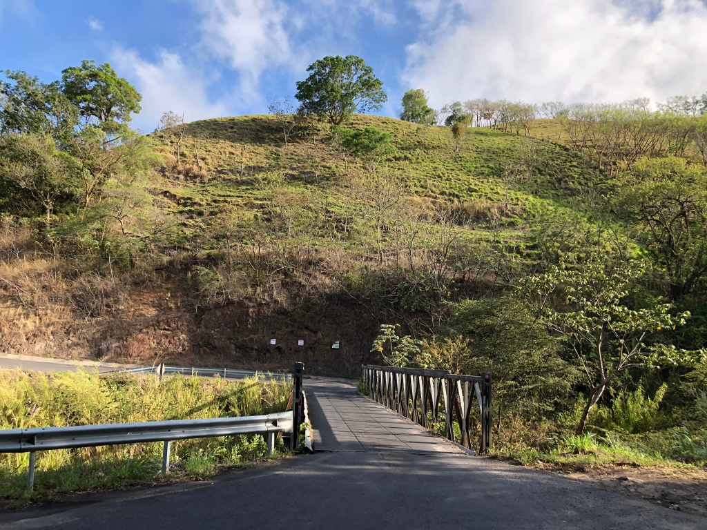 One Lane Bridge Costa Rica