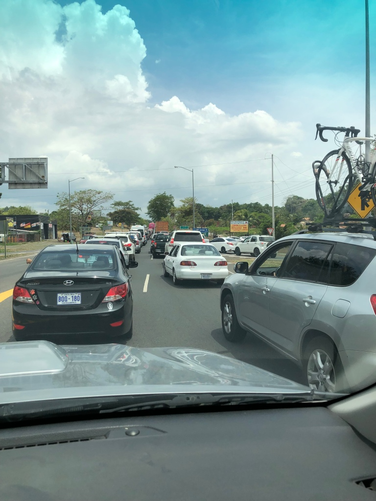 Traffic Jam Highway 27 Costa Rica