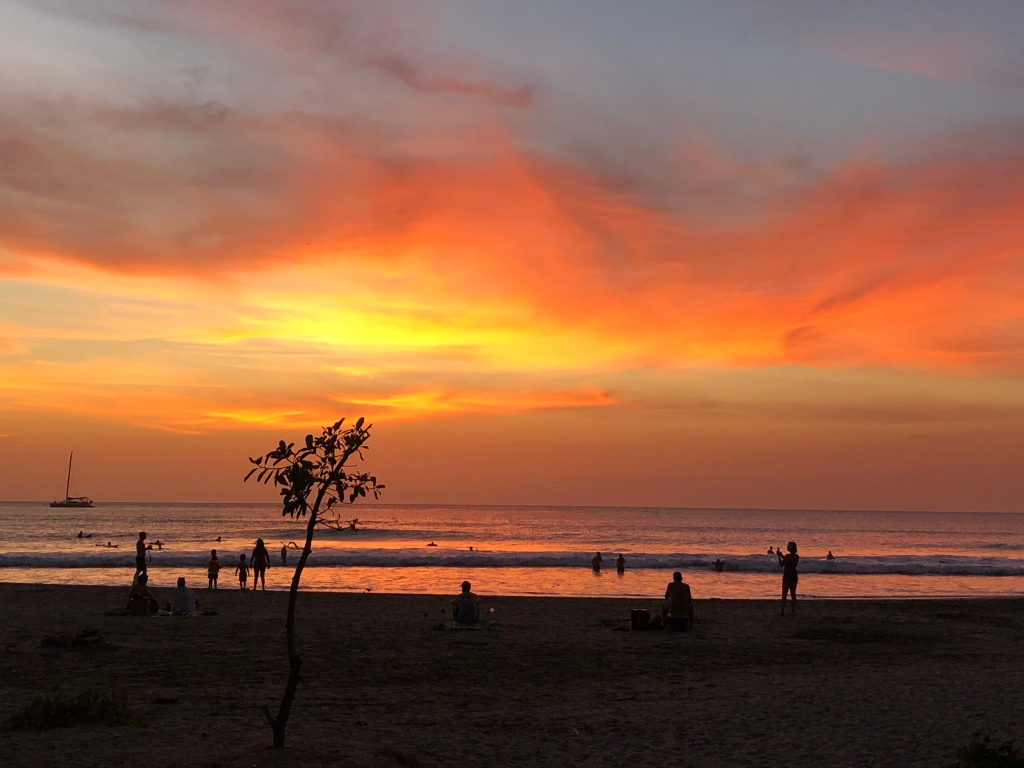 Sunset  at Tamarindo Beach Costa Rica